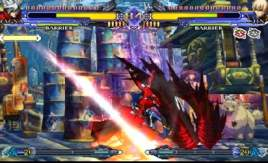 BlazBlue: CSII for PSP Screenshot